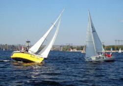 две яхты