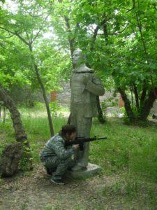 лазертаг с Лениным