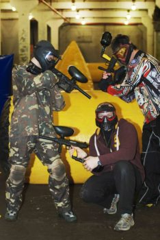 Paintball dangar